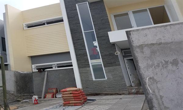 Pengerjaaan indoor dan outdoor aluminium oleh althaf aluminium jakarta barat